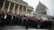 Congress Hands Up