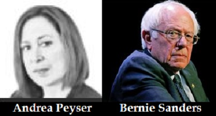 Andrea Peyser vs. Bernie Sanders