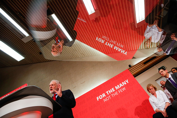 U.K. Opposition Labour Party Leader Jeremy Corbyn Delivers A Speech On Brexit Negotiations Ahead Of The General Election