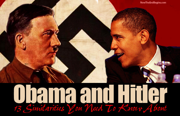 Obama and Hitler