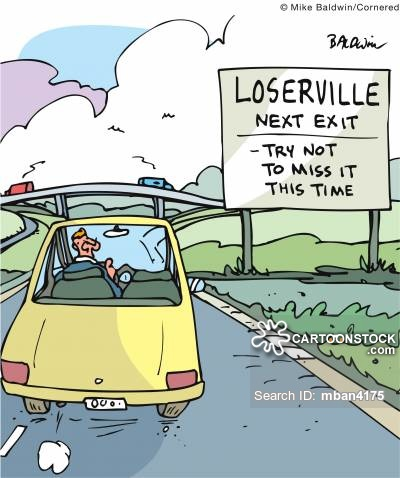 Loserville Next Exit: Try not to miss it this time.