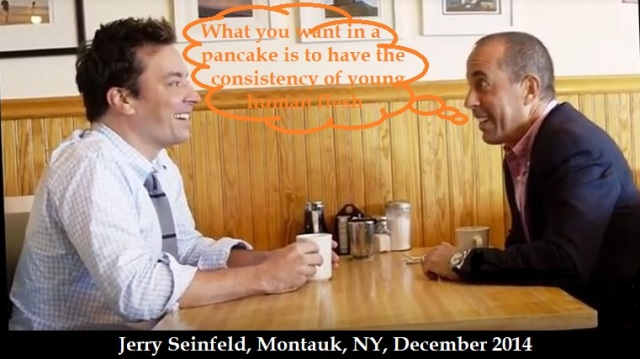 Jerry Seinfeld 'young human flesh' 2014