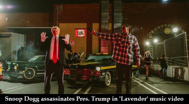 Snoop assassinate Trump in music video 'Lavender'