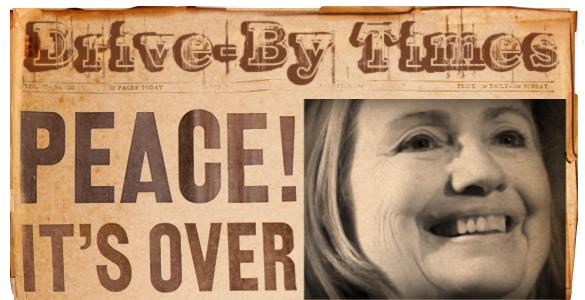 Hillary HamasPeacePaper
