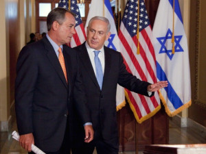 boehner-netanyahu-flags