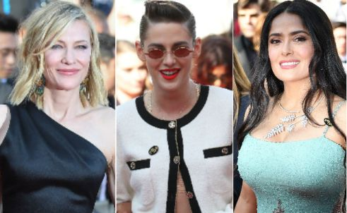 cannes equal pay protest
