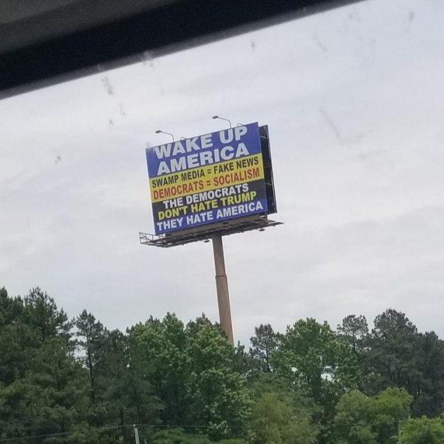 I-40 billboard near Little Rock, AR