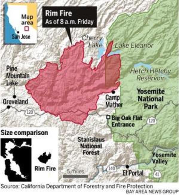 Yosemite fire2