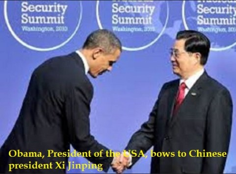 Obama-bows-to-Chinese-President-Xi-Jinping