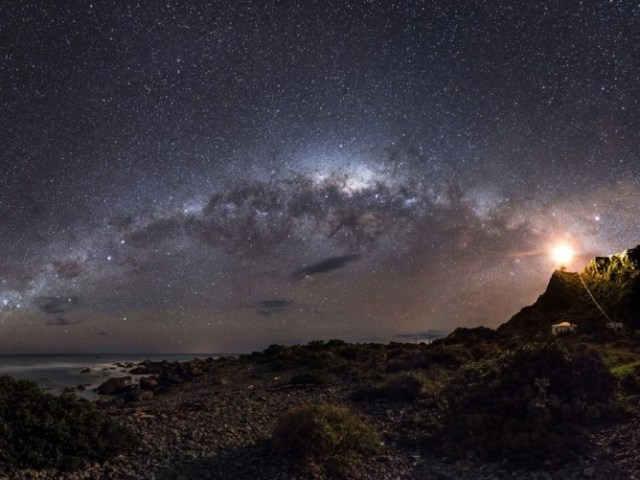 The Milky Way from New Zealand