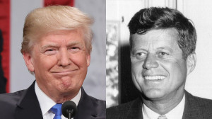 Trump is like jfk