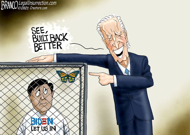 Biden fascist with cages
